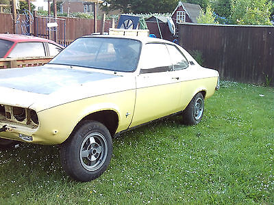 "Opel Manta  Ray . ""a"" Series 1972 . Restoration . Excellent Shell ."