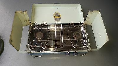 Vintage Primus Twin Gas Burner Cooker Stove Camping