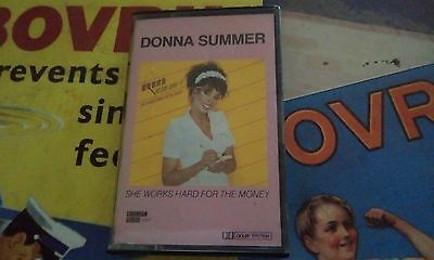 Donna Summer She Works Hard For The Money Cassette Tape Album