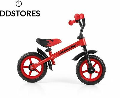 MillyMally 400077 Vélo d'Enfants Milly Mally Dragon Rouge