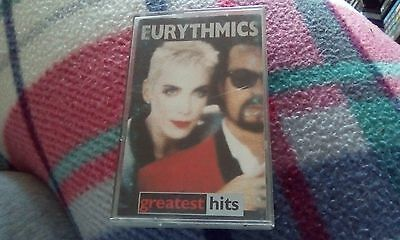 Eurythmics Greatest Hits Cassette Tape Album