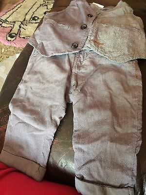 Next baby boy trousers and waistcoat 6-9 months