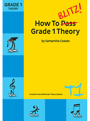 How to Blitz! Grade 1 Theory Samantha Coates New Edition  T1