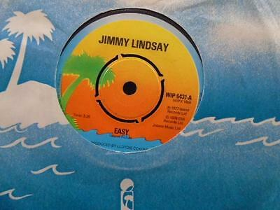 """JIMMY LINDSAY """" EASY  """" Or.UK ISLAND  EX+ COND.IN OR. SL."""