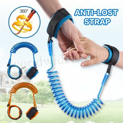 Toddler Kids Safety Anti-lost Strap Wrist Band Link Harness Child Belt 1.5M 2.5M