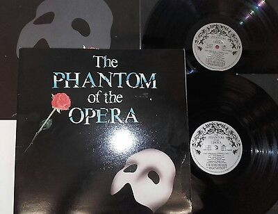 Phantom Of The Opera Original Sountrack With Booklet & Inners 2X Lp Records Ex