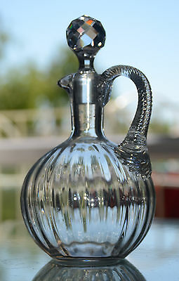 Ancienne Carafe En Cristal Baccarat Catalogue 1916