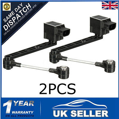 Pair Air Suspension Ride Height Sensor For Land Rover Discovery 2 Td5 & V8 Uk