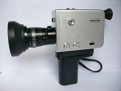 Braun Nizo S48 Super 8 Camera - fully tested, working, 90 day warranty.