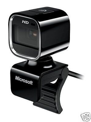 Microsoft Lifecam HD 6000 Webcam for Notebooks 720p Video 7PD-00009 Y0NG