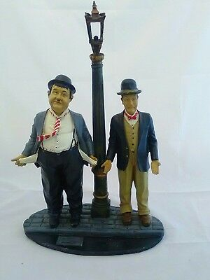 Vintage Laurel and Hardy Ornament Figurine Collectible 21""