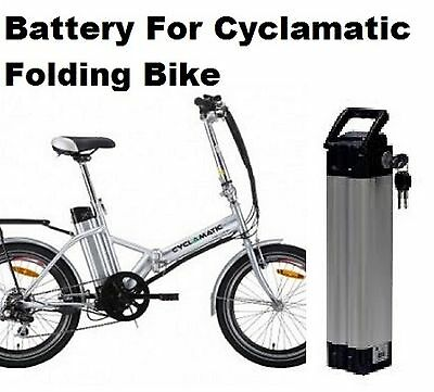 Cyclamatic Folding  Electric Bike ( Battery) 24V   Li-iorn And BRAND NEW Charger