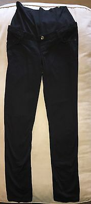 ESPRIT Maternity Black Pants Trousers Jeans Size 10 Over Bump Band