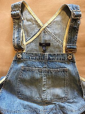 Gap Maternity Denim Overalls Dungarees  SIZE S
