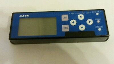 Sato S8412 Control Pad  With Lcd -Box Labelers