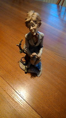 """Capodimonte Giuseppe Cappe Figure """"first Love"""" Signed And Dated Lovely"""