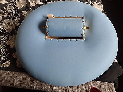 Large Dutch Lacemakers Cushion With Roller