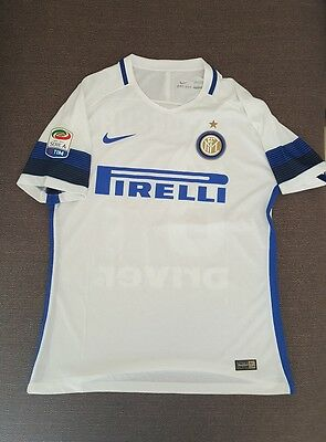 Match Worn Issue Inter,candreva,maglia Preparata Seria A Shirt Trikot Camiseta