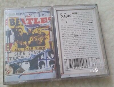 Sealed The Beatles Anthology 2 Double Cassette Set Mint Unused