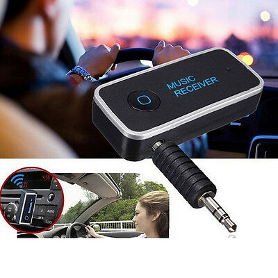 Bluetooth v4.1 + EDR Music Receiver Hands-free Stereo A2DP 3.5mm AUX, Car Audio