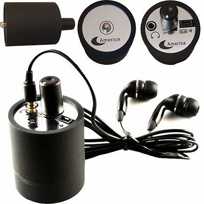 Ear Listen Through Wall Device SPY Eavesdropping Microphone Voice Bug Gadgets