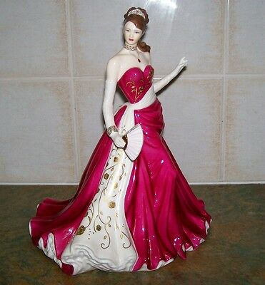 """Royal Worcester """"RUBY"""" V Large Figurine """"MINT"""" Very Low No. 21/7500"""