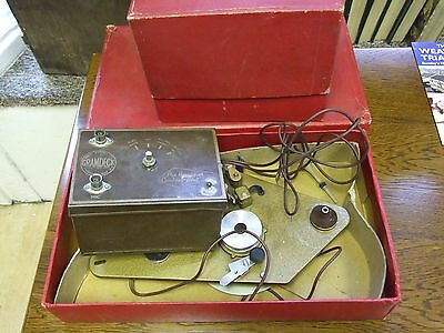 Vintage Boxed Gramdeck Gramophone Tape Recorder & Control Unit .
