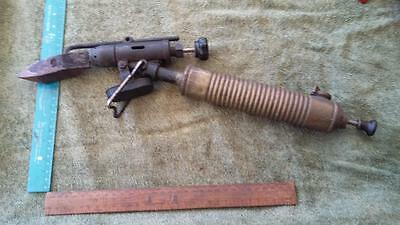 Vintage Blow Torch-Soldering Iron.tools,shed,workshop,man cave,old,bar,plumbing.