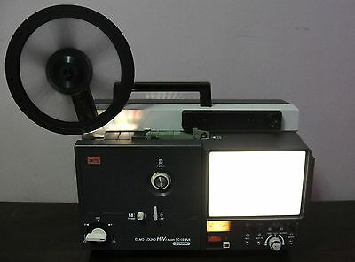 Elmo Sound HiVision SC-18 M 2-track Super 8 movie Projector ~SERVICED~