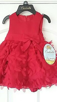 princess collection baby girl party dress /pants 6 months BNWT