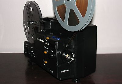 CHINON 2500GL DUAL 8mm Super 8 / Reg 8mm PROJECTOR ADJUSTABLE SPEED