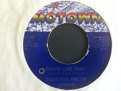 "DIANA ROSS & THE SUPREMES: ""FOREVER CAME TODAY"" on US MOTOWN 1122"