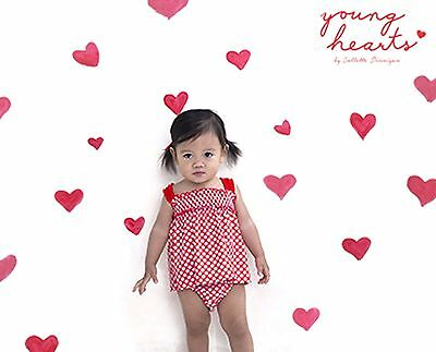 COLLETTE DINNIGAN Sz 000 young hearts baby girls tank top swim suit set NWT!