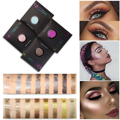 16 Colors Pro Makeup Pressed Powder Glitter Eyeshadow Eye Shadow Face Cosmetic
