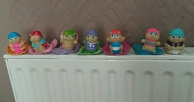 Vintage 1980's - Glo Friends / Worms / Bugs Glow with sleeping bags