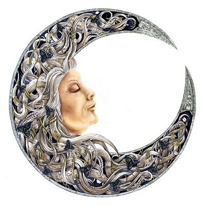 Crone Wall Plaque - New - Ornament - Witchcraft, Wicca, Pagan, Triple Goddess