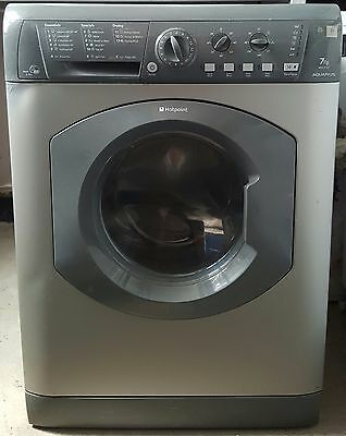Hotpoint Aquarius Washer Dryer - Fast 1200 Spin - 7Kg Load - Silver - B Energy