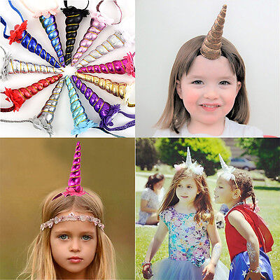Hair Headband Cosplay Costume perfect Decorative party props Unicorn Horn Head