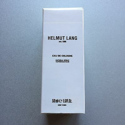 Helmut Lang Eau de Cologne 50 ml 1.6 oz New in box, sealed