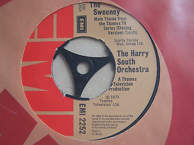 The Harry South Orchestra. The Sweeney (Main Theme) Rare 7 Inch Single.