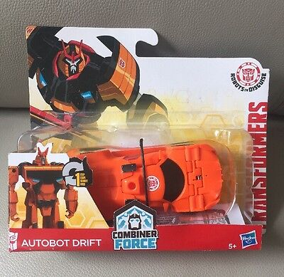 Transformers RID 1-Step Changer Autobot Drift Combiner Force Figure