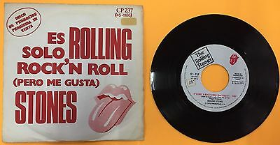 "The Rolling Stones- It's Only Rock'nRoll-Through The Lonely Nights.7"". Spain."