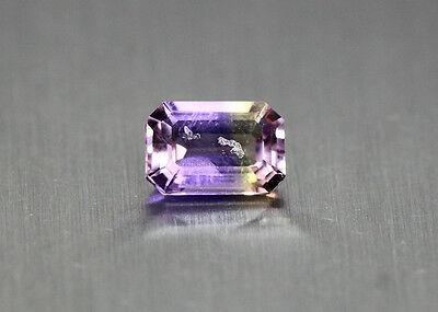 1.04 Cts_Simmering Ultra Very Rare Gemstone_100%natural Bi-Color Ametrine_Africa