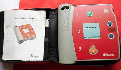 Laerdal Agilent Heartstream AED Trainer 2. With soft carry case