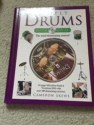 Simply Drums Book and DVD: The Total Drumming Course
