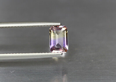 0.94 Cts_Simmering Ultra Very Rare Gemstone_100%natural Bi-Color Ametrine_Africa