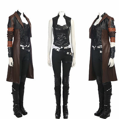 New Type Guardians of The Galaxy 2 Gamora Cosplay Costume Outfit 4