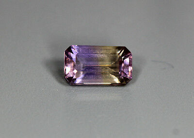 1.35 Cts_Simmering Ultra Very Rare Gemstone_100%natural Bi-Color Ametrine_Africa