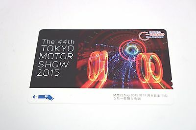 44th Tokyo Motor Show 2015 Yurikamome One Day Pass (Used)