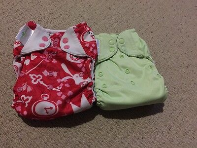 Bumgenius set *Caroll (Pockets) And Grasshopper (Freetime) *used*